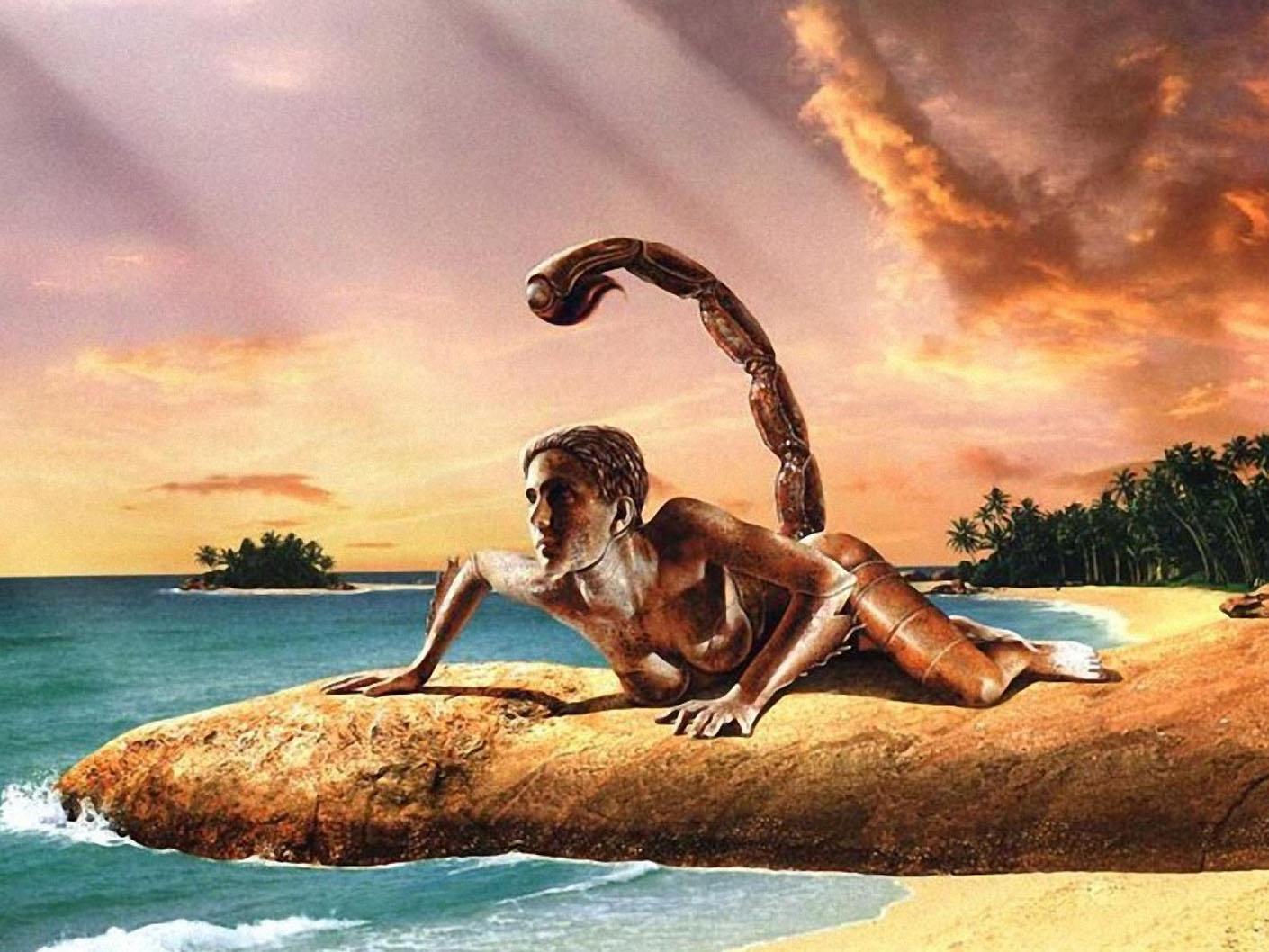 Поздравление с днём рождения для скорпиона на