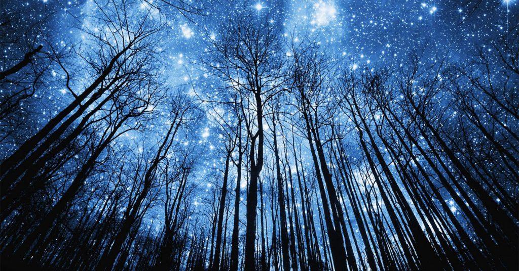 Картинки на рабочий стол небо со звездами